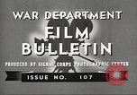 Image of U.S. Army movies for soldiers during World War II United States USA, 1943, second 5 stock footage video 65675062805