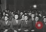 Image of U.S. Service personnel watch movies during World War II Pacific Theater, 1943, second 6 stock footage video 65675062810