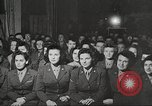 Image of U.S. Service personnel watch movies during World War II Pacific Theater, 1943, second 7 stock footage video 65675062810