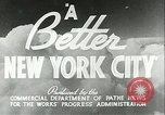 Image of Works Progress Administration depression projects New York City USA, 1936, second 5 stock footage video 65675062811