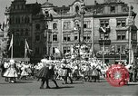Image of United States soldiers Pilsen Czechoslovakia, 1945, second 5 stock footage video 65675062816