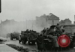Image of 16th Armored Division greeted by Czech citizens Pilsen Czechoslovakia, 1945, second 10 stock footage video 65675062817