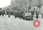 Image of United States soldiers Pilsen Czechoslovakia, 1945, second 2 stock footage video 65675062819