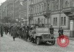 Image of United States soldiers Pilsen Czechoslovakia, 1945, second 6 stock footage video 65675062819