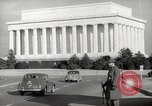 Image of Lincoln Memorial Washington DC USA, 1941, second 6 stock footage video 65675062830