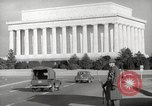 Image of Lincoln Memorial Washington DC USA, 1941, second 9 stock footage video 65675062830