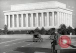 Image of Lincoln Memorial Washington DC USA, 1941, second 11 stock footage video 65675062830