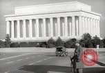 Image of Lincoln Memorial Washington DC USA, 1941, second 12 stock footage video 65675062830