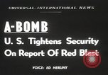 Image of possession of atom bomb United States USA, 1949, second 1 stock footage video 65675062834