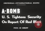 Image of possession of atom bomb United States USA, 1949, second 3 stock footage video 65675062834