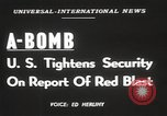 Image of possession of atom bomb United States USA, 1949, second 7 stock footage video 65675062834