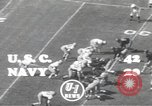 Image of football game Los Angeles California USA, 1949, second 4 stock footage video 65675062837