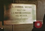 Image of Hannibal Victory ship San Francisco California USA, 1945, second 11 stock footage video 65675062868
