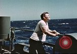 Image of Hannibal Victory ship Philippine Sea, 1945, second 3 stock footage video 65675062871