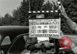 Image of taxicab driver Berlin Germany, 1959, second 1 stock footage video 65675062920