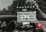 Image of taxicab driver Berlin Germany, 1959, second 2 stock footage video 65675062920