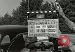 Image of taxicab driver Berlin Germany, 1959, second 3 stock footage video 65675062920