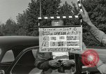 Image of taxicab driver Berlin Germany, 1959, second 4 stock footage video 65675062920