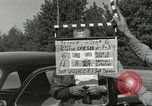 Image of taxicab driver Berlin Germany, 1959, second 5 stock footage video 65675062920