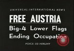 Image of freedom of Austria Vienna Austria, 1955, second 1 stock footage video 65675062931