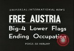 Image of freedom of Austria Vienna Austria, 1955, second 3 stock footage video 65675062931