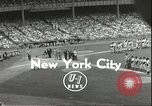 Image of Baseball Old Timers New York City New York USA, 1955, second 1 stock footage video 65675062937