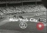 Image of Baseball Old Timers New York City New York USA, 1955, second 2 stock footage video 65675062937