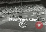 Image of Baseball Old Timers New York City New York USA, 1955, second 3 stock footage video 65675062937