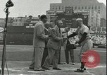 Image of Baseball Old Timers New York City New York USA, 1955, second 8 stock footage video 65675062937