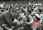 Image of Baseball Old Timers New York City USA, 1955, second 12 stock footage video 65675062937