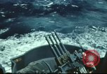 Image of USS Hornet during Battle of Midway in World War II Pacific Ocean, 1942, second 4 stock footage video 65675062938