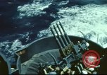 Image of USS Hornet during Battle of Midway in World War II Pacific Ocean, 1942, second 6 stock footage video 65675062938