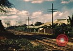 Image of railroad station Hawaii USA, 1942, second 3 stock footage video 65675062970