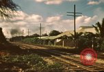 Image of railroad station Hawaii USA, 1942, second 7 stock footage video 65675062970