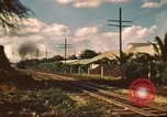Image of railroad station Hawaii USA, 1942, second 9 stock footage video 65675062970