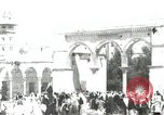 Image of Families at  Al Aqsa Mosque Jerusalem Palestine, 1945, second 1 stock footage video 65675062975