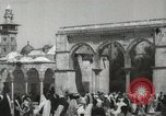 Image of Families at  Al Aqsa Mosque Jerusalem Palestine, 1945, second 7 stock footage video 65675062975