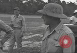 Image of General Nathan Twining Munda New Georgia Solomon Islands, 1943, second 12 stock footage video 65675063016