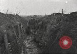 Image of soldiers on battlefront Europe, 1917, second 9 stock footage video 65675063069