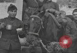 Image of soldiers on battlefront Europe, 1917, second 10 stock footage video 65675063070