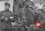 Image of soldiers on battlefront Europe, 1917, second 11 stock footage video 65675063070