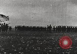 Image of Joint French and American infantry parade Europe, 1918, second 3 stock footage video 65675063075