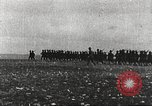 Image of Joint French and American infantry parade Europe, 1918, second 5 stock footage video 65675063075
