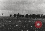 Image of Joint French and American infantry parade Europe, 1918, second 7 stock footage video 65675063075