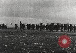 Image of Joint French and American infantry parade Europe, 1918, second 8 stock footage video 65675063075