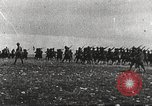 Image of Joint French and American infantry parade Europe, 1918, second 9 stock footage video 65675063075