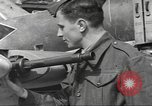 Image of German aircraft in British town square United Kingdom, 1941, second 7 stock footage video 65675063095
