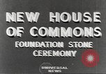 Image of House of Commons reconstruction London England United Kingdom, 1948, second 3 stock footage video 65675063099