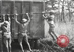 Image of Elements of U.S. 6th Cavalry Division in maneuvers at Fort Olgelthorpe Fort Oglethorpe Georgia USA, 1942, second 4 stock footage video 65675063110
