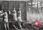 Image of Elements of U.S. 6th Cavalry Division in maneuvers at Fort Olgelthorpe Fort Oglethorpe Georgia USA, 1942, second 7 stock footage video 65675063110